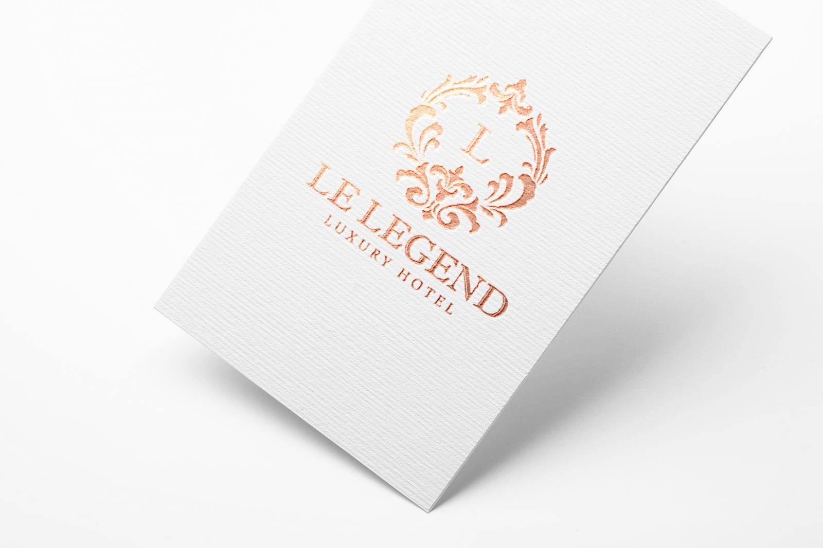 Cration Graphique Et Impression De Cartes Visite Luxe